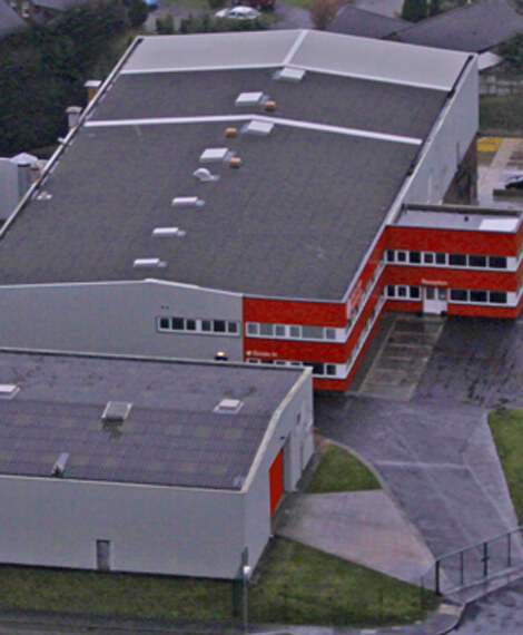 SAFE-door industries aerial view
